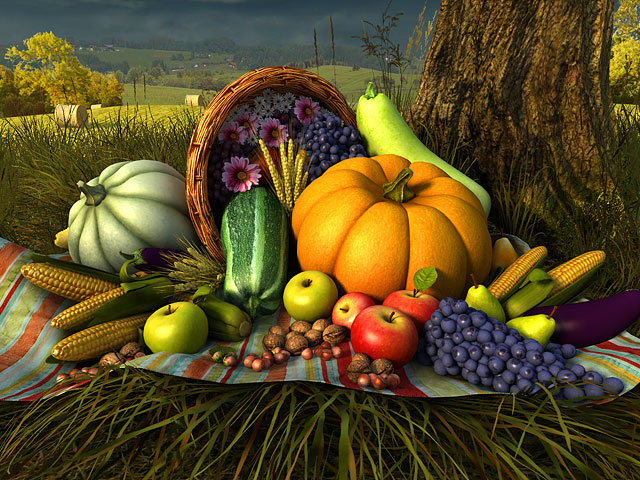 Fall Live Wallpapers For Windows 7 Holidays 3d Screensavers Thanksgiving Day Juicy 3d