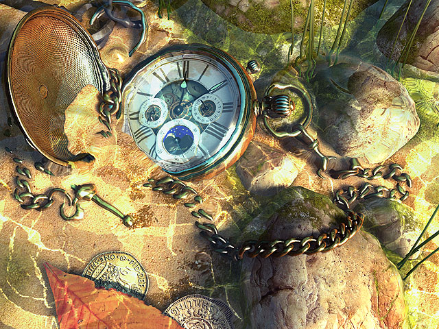 Fall Live Wallpapers For Windows 7 Clock 3d Screensavers The Lost Watch Ii A Golden Watch