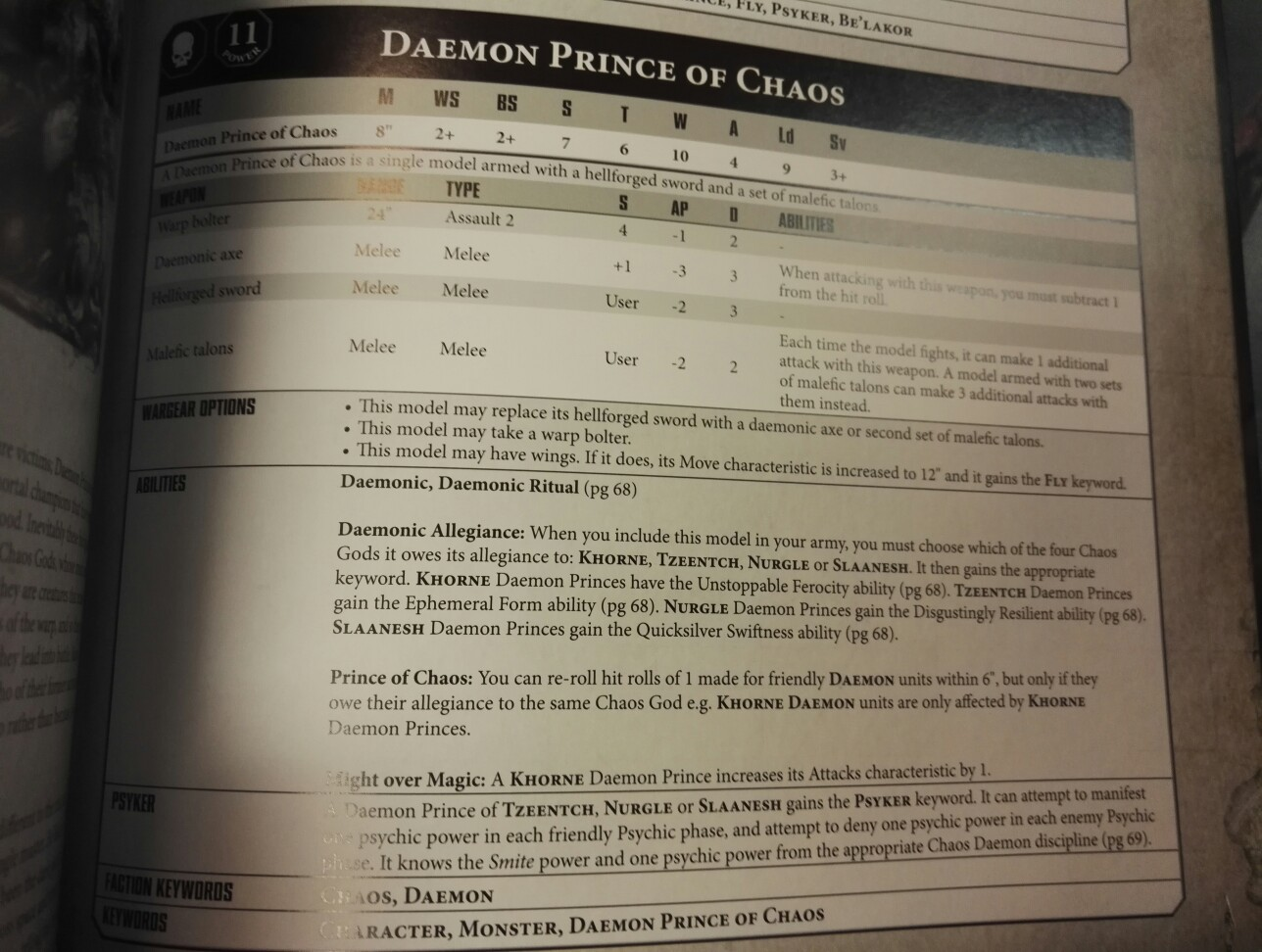 Daemons Of Chaos 8th Edition Army Book Pdf