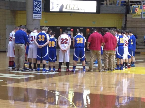 LBAA Pre-Game Prayer