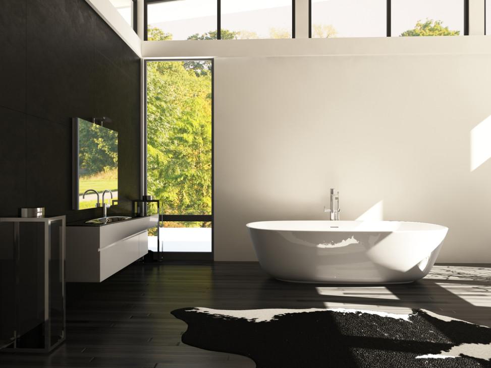 Bao moderno blanco y negro Fotos para que te inspires  3Presupuestos