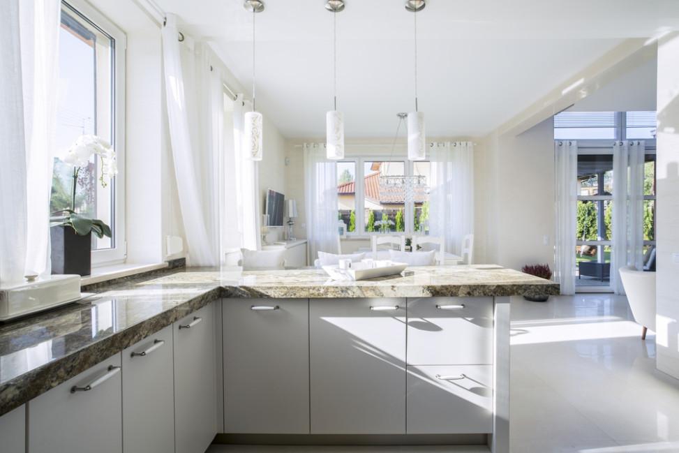 Cocina clsicomoderna blanca Fotos para que te inspires  3Presupuestos