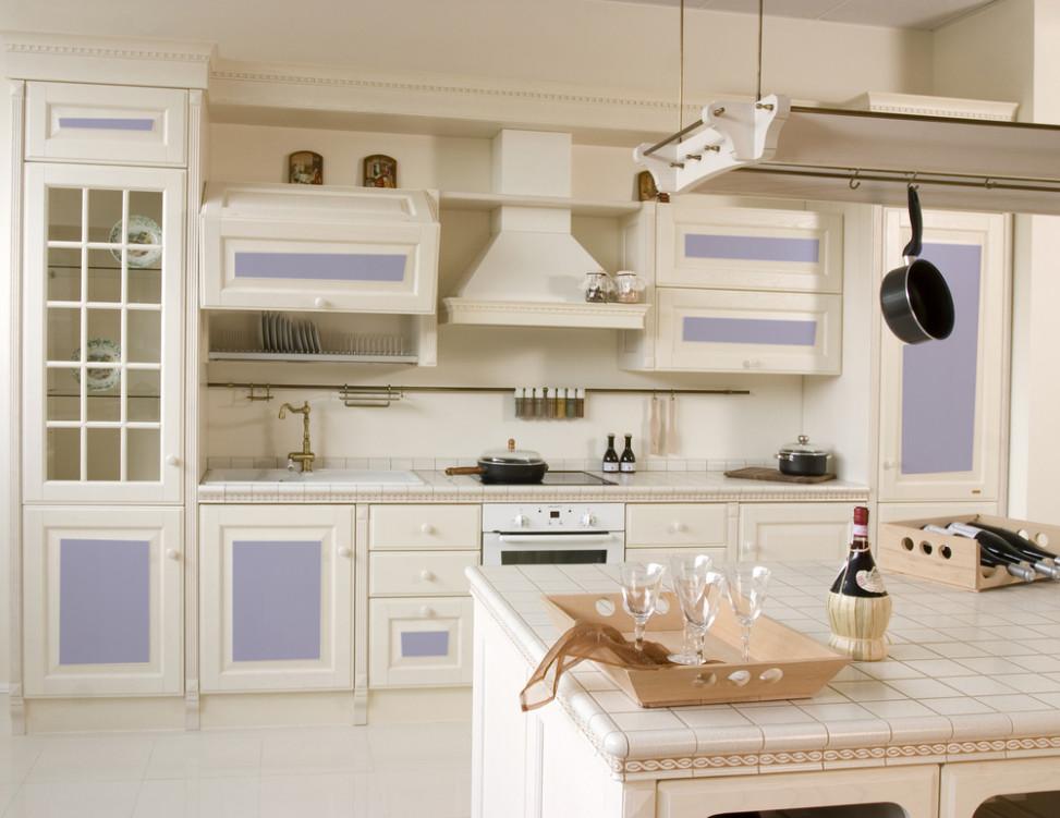 Cocina vintage en blancos y azules Fotos para que te inspires  3Presupuestos