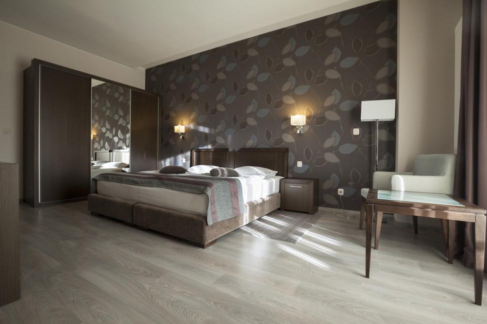 Dormitorio moderno con estampado Fotos para que te inspires  3Presupuestos