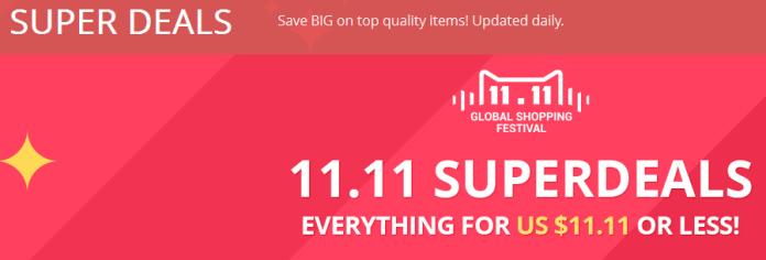 aliexpress 11.11 shopping event