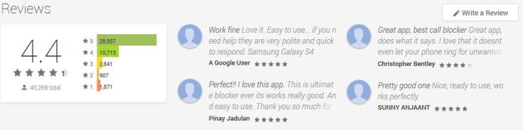 what android phone users think about the call control app