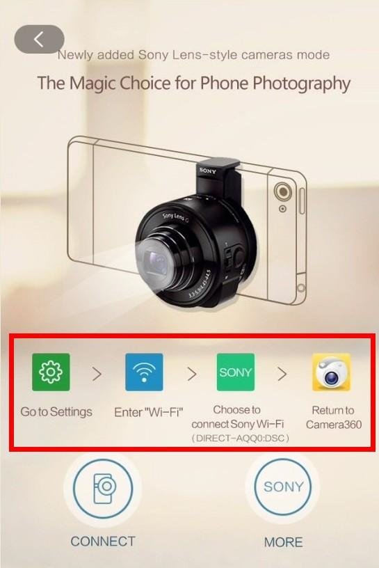 Camera360 app for iPhone Tutorials
