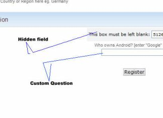 preventing spam-bots opeartion or spam-registration on any smf forum
