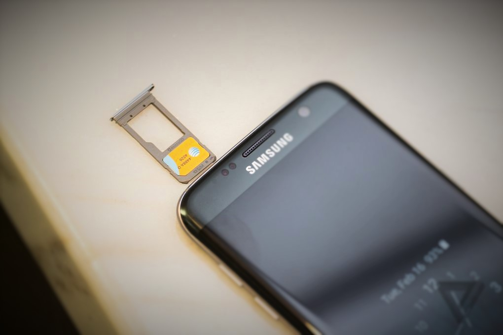 Samsung S7 Memory card slot
