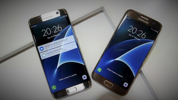samsung galaxy s7 and edge
