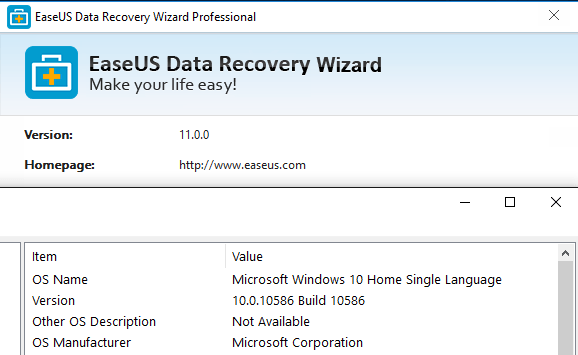 EaseUS data recovery software tutorials