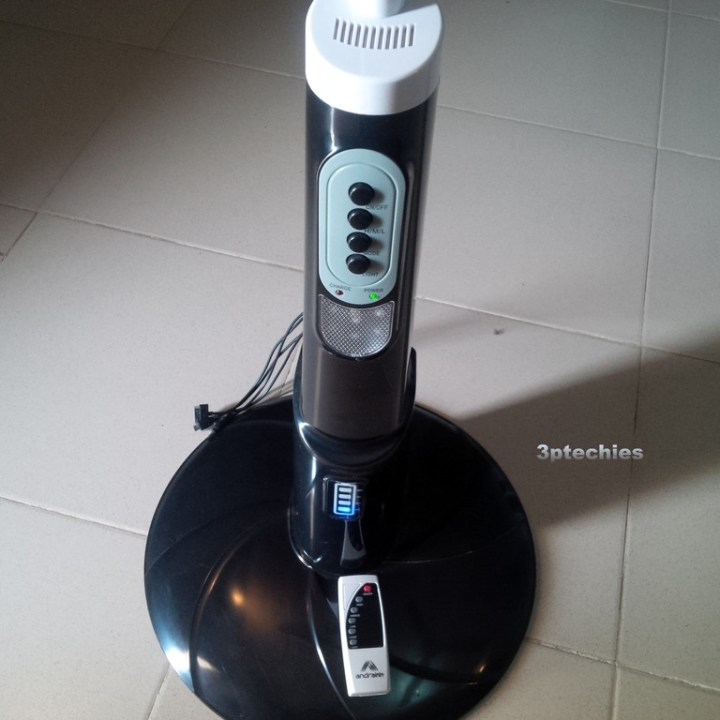 Andrakk rechargeable fan review