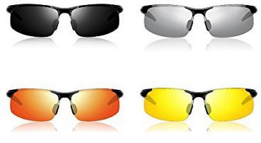 ATTCL HD anti-glare polarized sun glasses for men