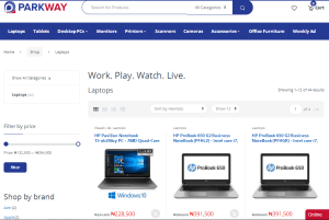 Parkway Naija online shopping mall