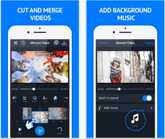 movavi clips for mobile