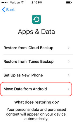 Move to iOS App Tutorials
