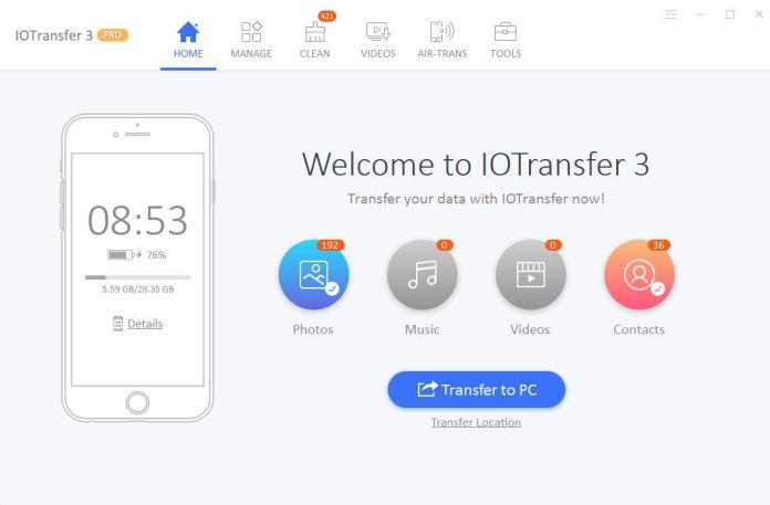 iOTransfer 3 Review and tutorials