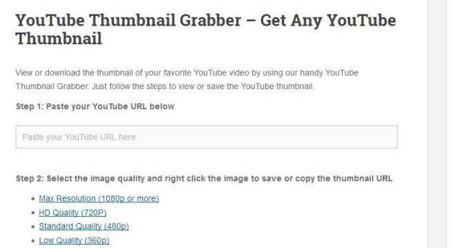 VloggingPro Thumbnail Grabber