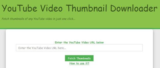 YouTube Thumbnail Generator
