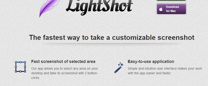 LightShot screenshot capture tool