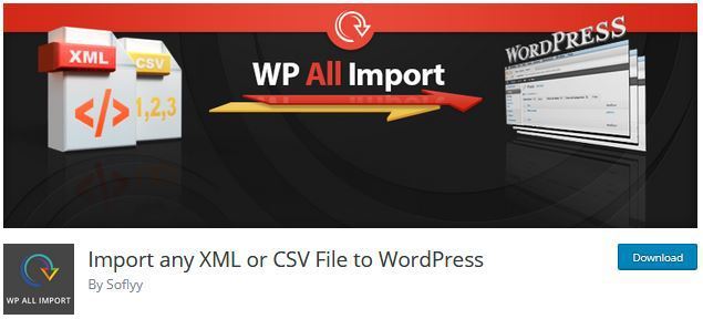 import blogger contents to wordpress