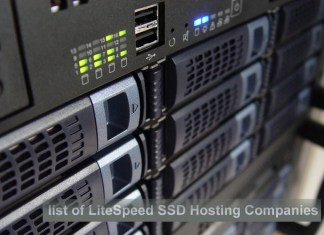 list of LiteSpeed Hosting companies