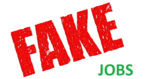 Beware of fake job offers