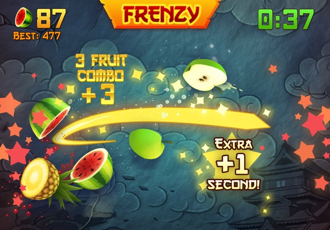 Fruit Ninja ios