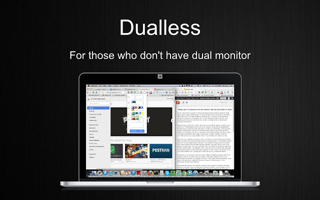 Dualless