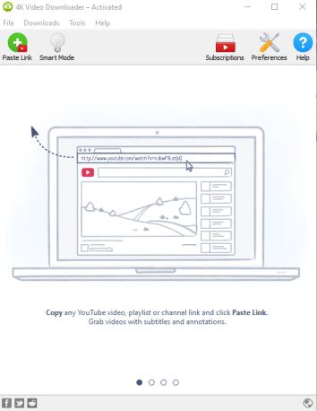 4K Video Downloader Interface