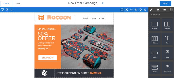 Aritic PinPoint email builder