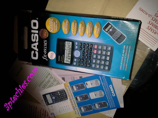 Casio fx-991MS 2-Line display Scientific Calculator