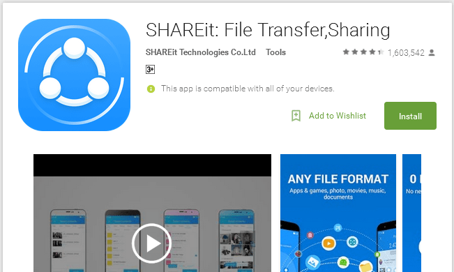 best 7 android file transfer tools
