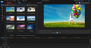 cyberlink video editing software