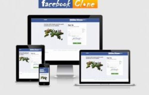 Ultimate Landing Page (Facebook Clone)
