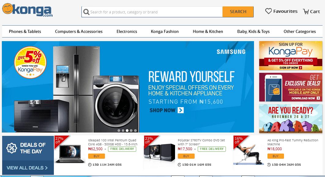 konga Online Shopping Store