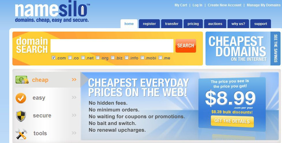 Namesilo Review 2020: Is it Any Better? (Latest Coupons Added)
