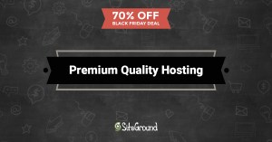 siteground black Friday 2016 hosting deals
