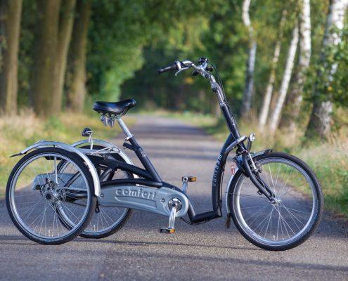 Dreirad mit Elektromotor Van Raam Maxi Comfort