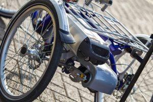 Dreirad für Kleinwüchsige mit E-Motor