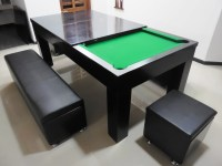 2 in 1  Pool Table with Dining table Option.