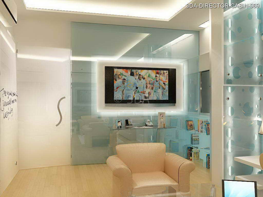 3DA  Office Director Cabin interior Design