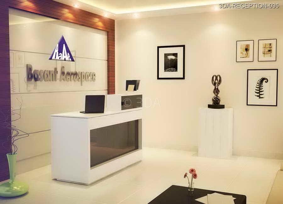 3DA  Office Reception Interior Design