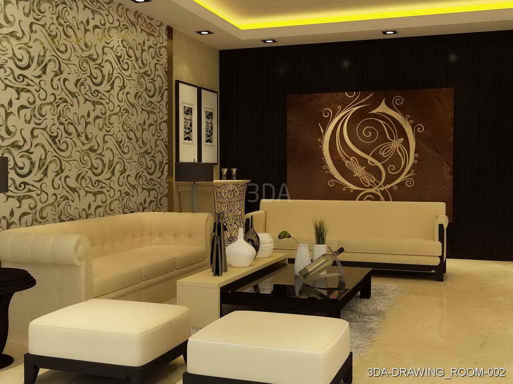 3DA  Best Drawing Room interior Decorators in Delhi and