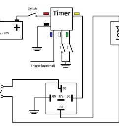 multi functional 3v time delay relay timer  [ 1210 x 916 Pixel ]