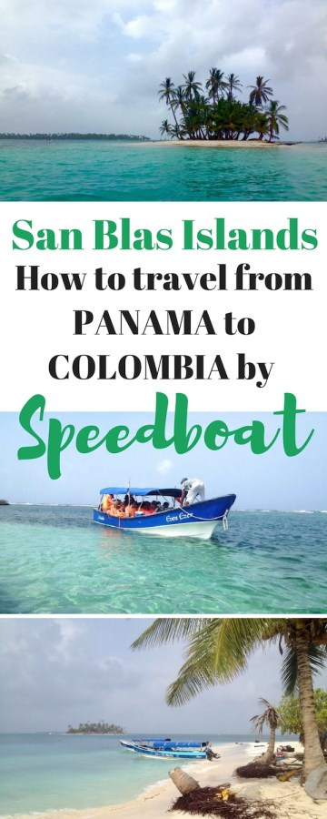 How to Travel from Panama to Colombia by Speedboat
