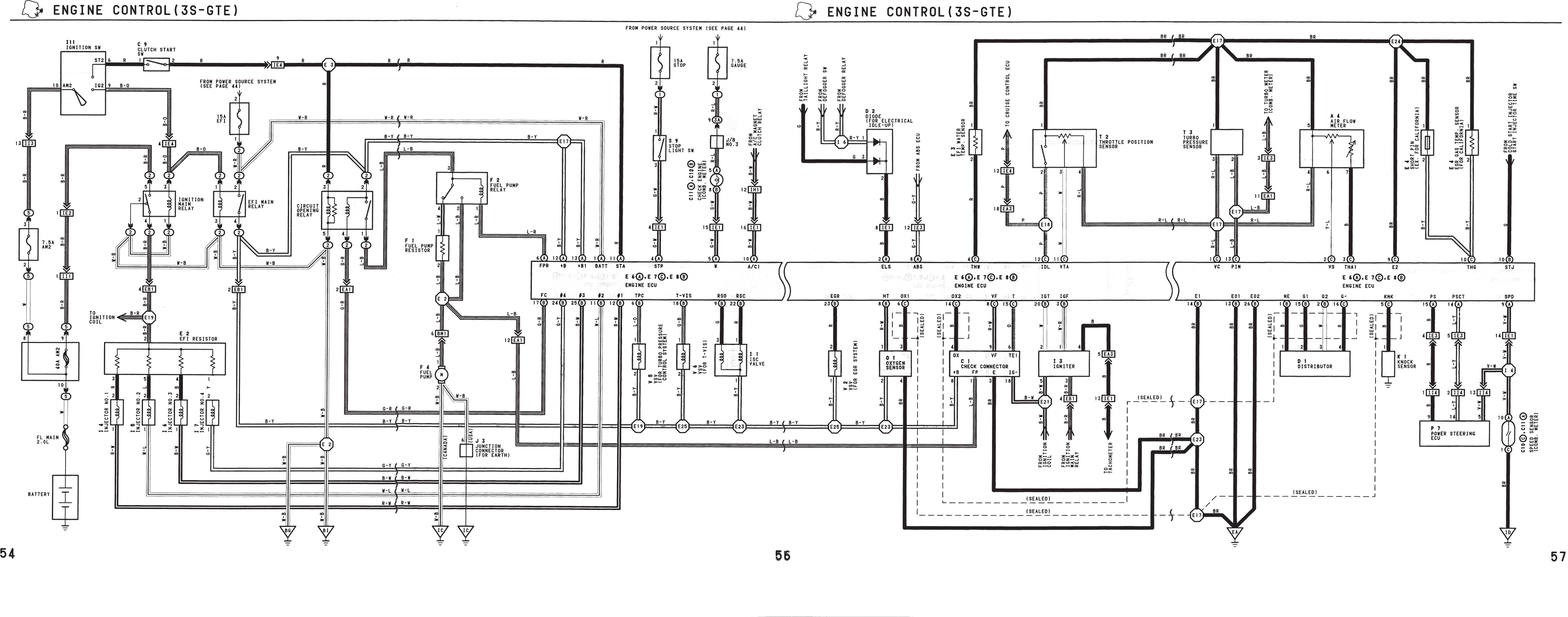 [DIAGRAM] Engine Electrical Diagram For Mr2 1991 FULL