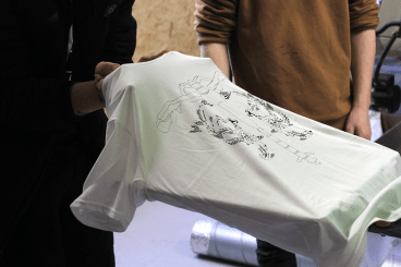 1 Day T-Shirt Screen Printing Workshop