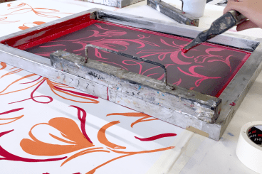 1 Day Fabric Screen Printing Workshop