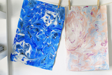 Learn the Art of Paper Marbling